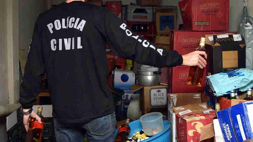 Homem condenado por vender bebidas falsas