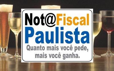 Bebida alcoólica zera a minha Nota Fiscal Paulista?